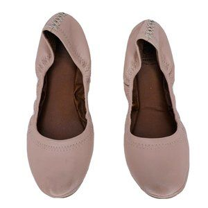 LUCKY BRAND Flats 7 Blush Pink Leather Ballet Flat